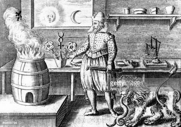 Basilius Valentinus monk and alchemist in the 15th century monk and alchemist 15th century