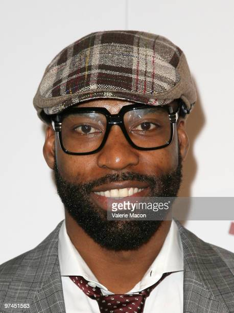 Basket Ball Player Baron Davis arrives at the Haven360 Upon Magazine and BMW Celebrate 'Precious' at Andaz Hotel on March 4 2010 in West Hollywood...