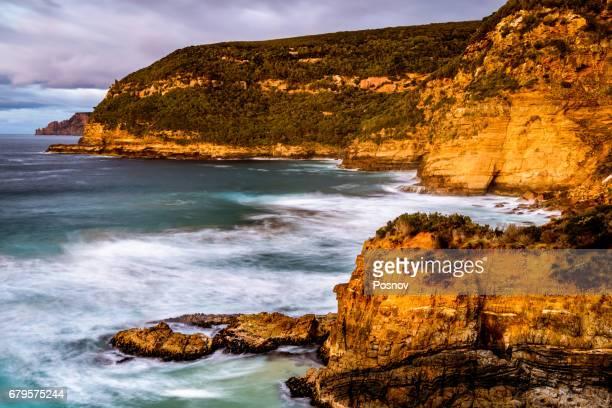 Basket Bay at Tasman Peninsula, Tasmania