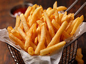 Basket of French Fries-Photographed on Hasselblad H3D2-39mb Camera