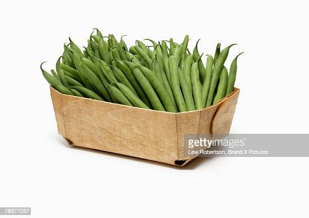 Basket of green beans