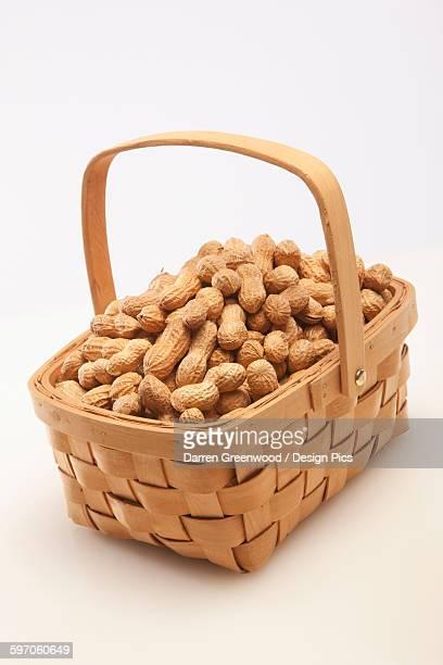 Basket of peanuts