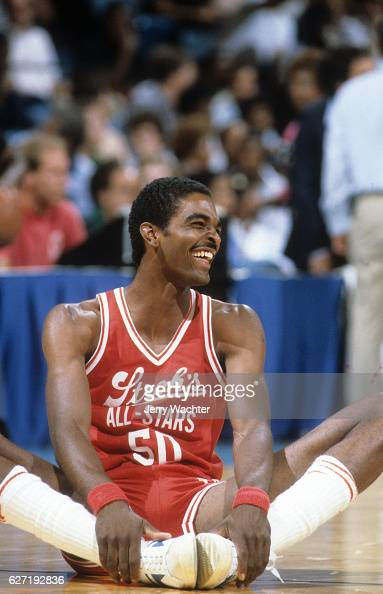 ACC All Stars Ralph Sampson during game vs NBA All Stars at NBA All Stars during exhibition game at Norfolk Scope Norfolk VA CREDIT Jerry Wachter