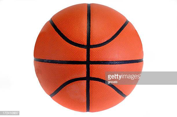 Basketball against white background.