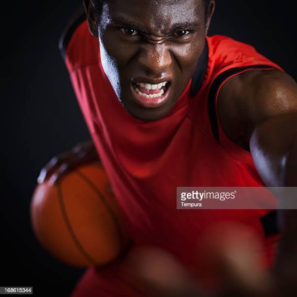 Basketball agressive palyer