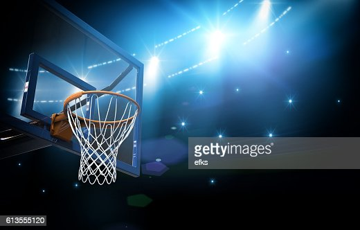 Basketball arena 3d : Stock Photo