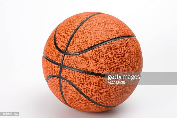 Basketball ball with clipping path