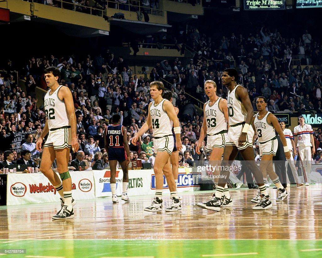 Kevin Mchale Larry Bird Boston Celtics Kevin M...