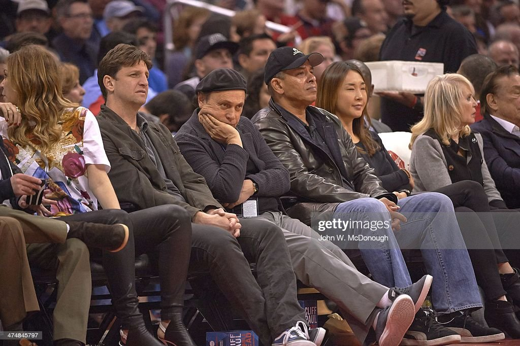 Los Angeles Clippers: Billy Crystal - Celebrity fans of ...