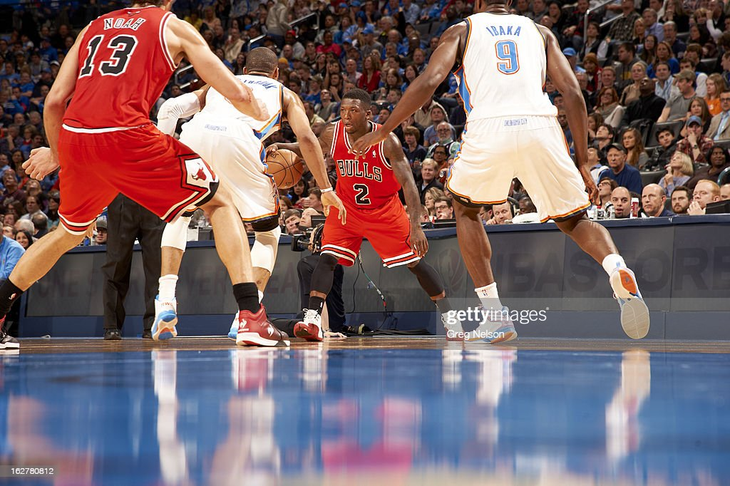 Chicago Bulls Nate Robinson (2) in action vs Oklahoma City Thunder at Chesapeake Energy Arena. Greg Nelson F126 )