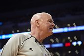 Closeup of referee Joey Crawford during Los Angeles Lakers vs Milwaukee Bucks game at Staples Center Los Angeles CA CREDIT John W McDonough