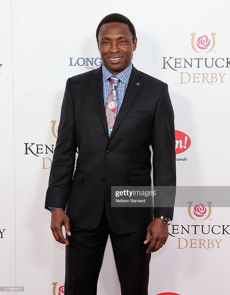 Basketball coach Avery Johnson attends the 141st Kentucky Derby at Churchill Downs on May 2, 2015 in Louisville, Kentucky.
