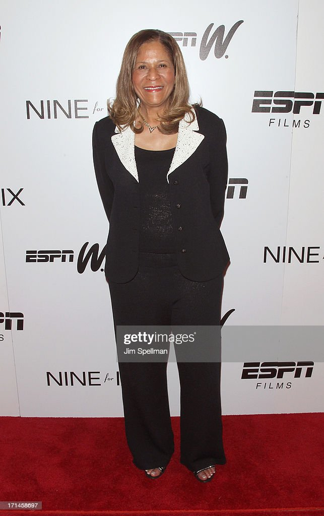 Basketball Coach C. Vivian Stringer attends 'Venus Vs.' and 'Coach' New York Special Screening at Paley Center For Media on June 24, 2013 in New York City.