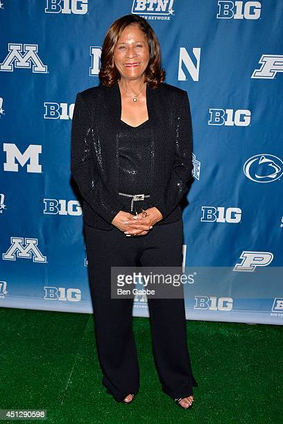 Basketball coach Vivian Stringer attends The Big Ten Network Kick Off Party at Cipriani 42nd Street on June 26 2014 in New York City