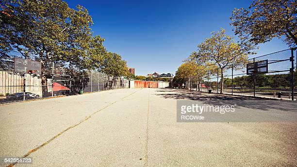 Basketball court in Brooklyn