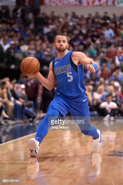 Dallas Mavericks JJ Barea in action vs Milwaukee Bucks at American Airlines Center Dallas TX CREDIT Greg Nelson