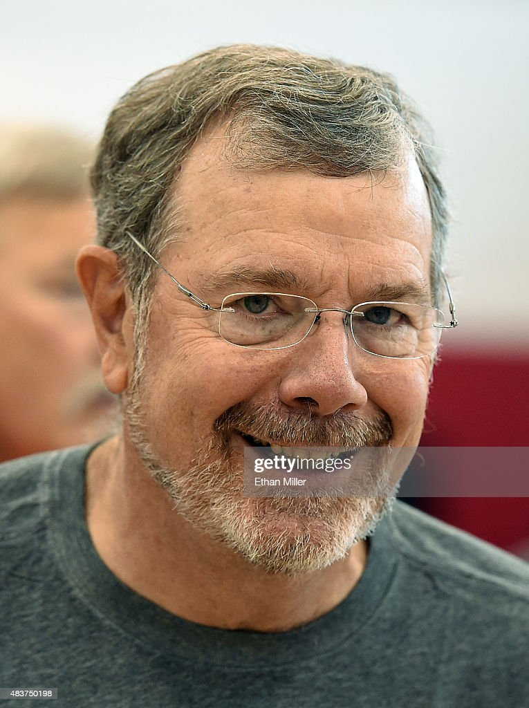 Basketball Fantasy Camp Director PJ Carlesimo attends a practice session for the 2015 USA Basketball Men's National Team at the Mendenhall Center on...