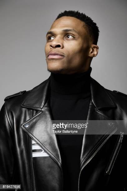 Fashionable 50 Closeup portrait of Oklahoma City Thunder guard Russell Westbrook posing during photo shoot at Thunder Practice Facility Oklahoma City...