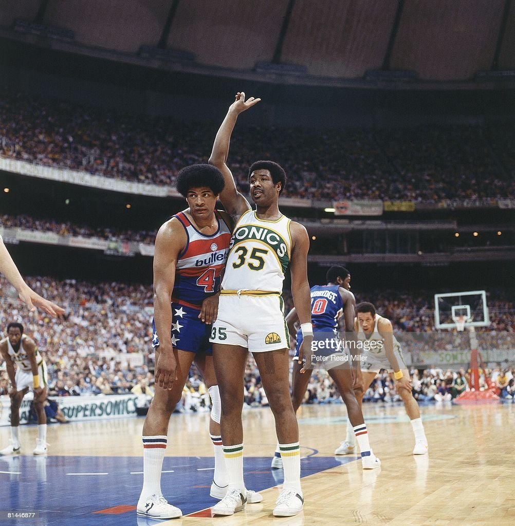 Washington Bullets Wes Unseld 1978 Finals