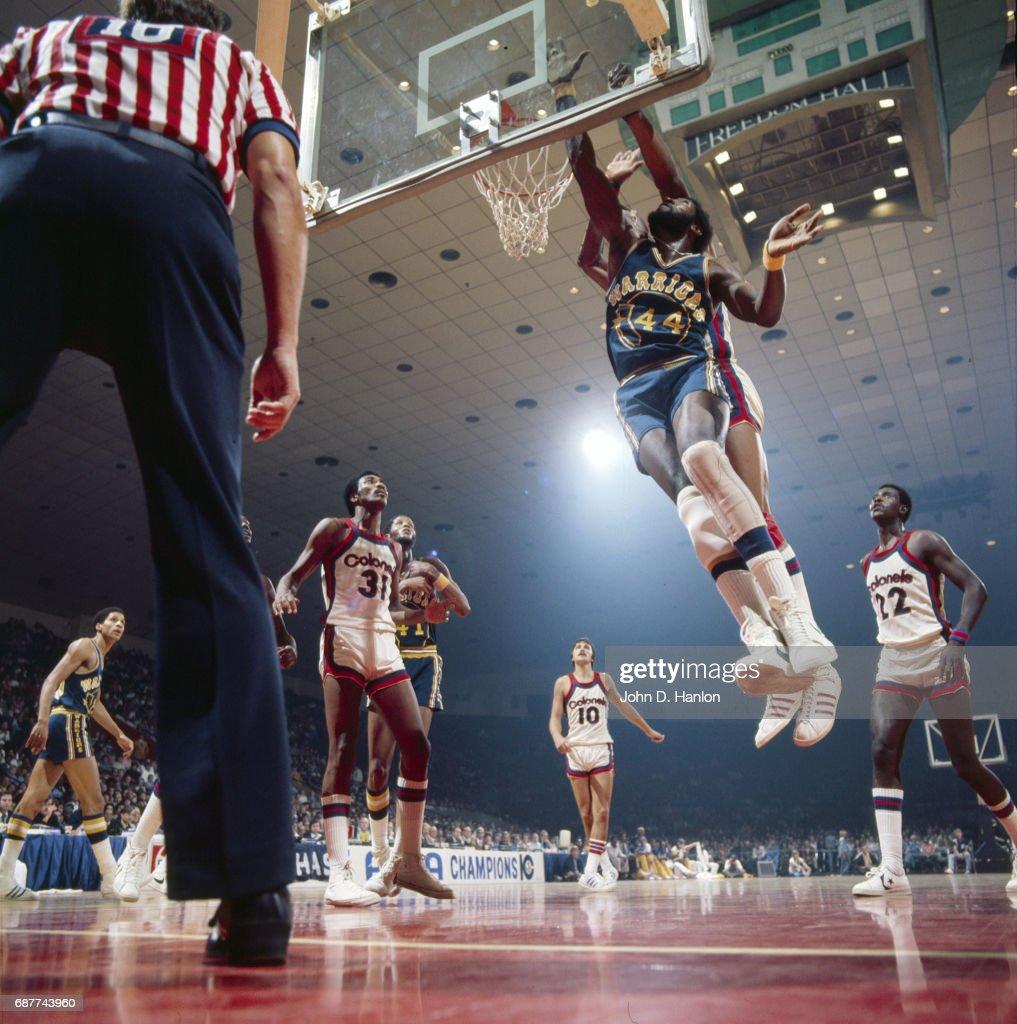 Kentucky Colonels vs Golden State Warriors
