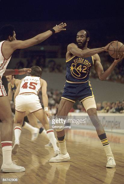 Golden State Warriors Nate Thurmond in action vs Portland Trail Blazers Portland OR CREDIT George Long