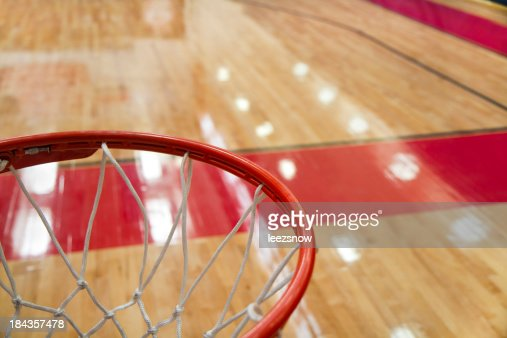 Basketball Hoop From Above