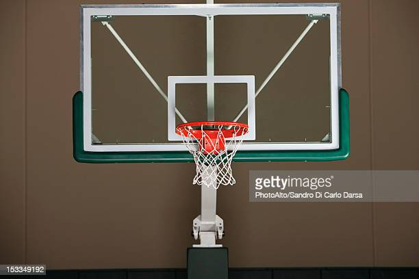 Basketball hoop with backboard