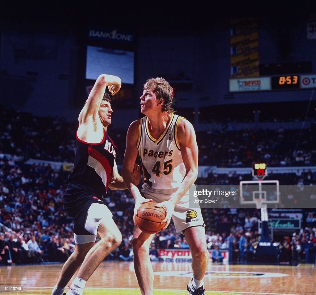 Indiana Pacers Rik Smits