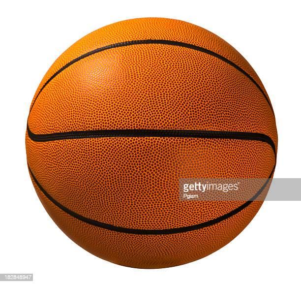 Basketball, isoliert auf weiss