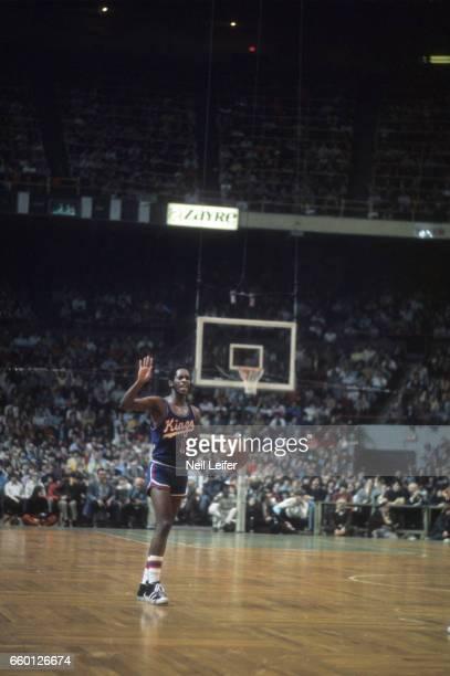 Kansas City Omaha Kings Nate Archibald in action vs Boston Celtics at the Boston Garden Boston MA CREDIT Neil Leifer