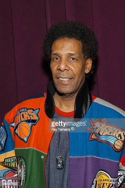 Basketball legend Richard Pee Wee Kirkland attends the 'Ultimate Hustler' Season Finale Taping at CBS Studios December 13 2005 in New York City