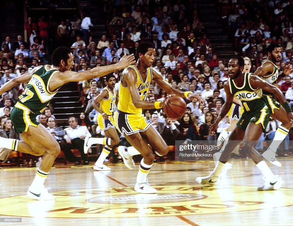 Los Angeles Lakers Jamaal Wilkes