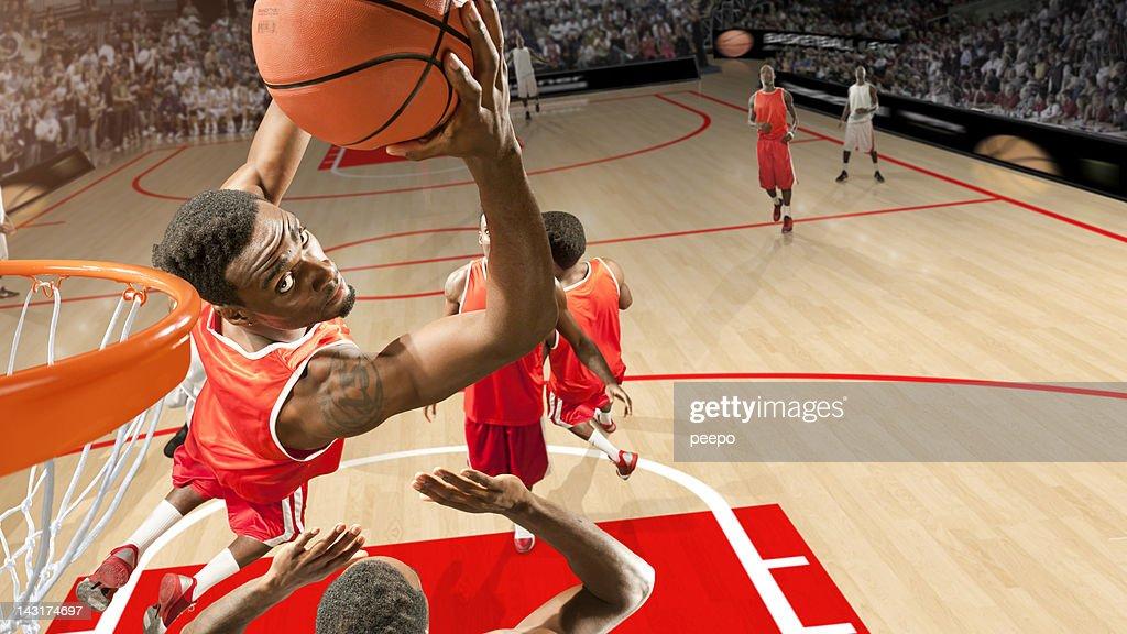 basketball match : Stock Photo