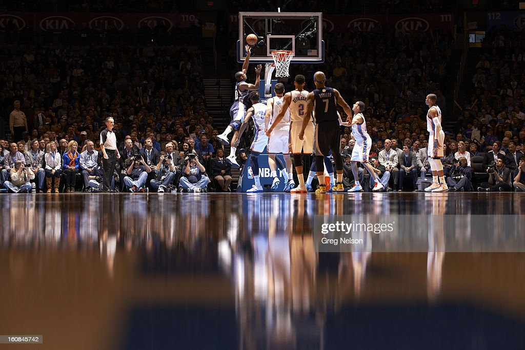 Memphis Grizzlies Darrell Arthur (00) in action vs Oklahoma City Thunder at Chesapeake Energy Arena. Greg Nelson F19 )