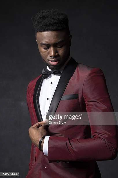 NBA Draft Portrait of Boston Celtics forward Jaylen Brown posing during photo shoot after selection process at Barclays Center Behind the Scenes...