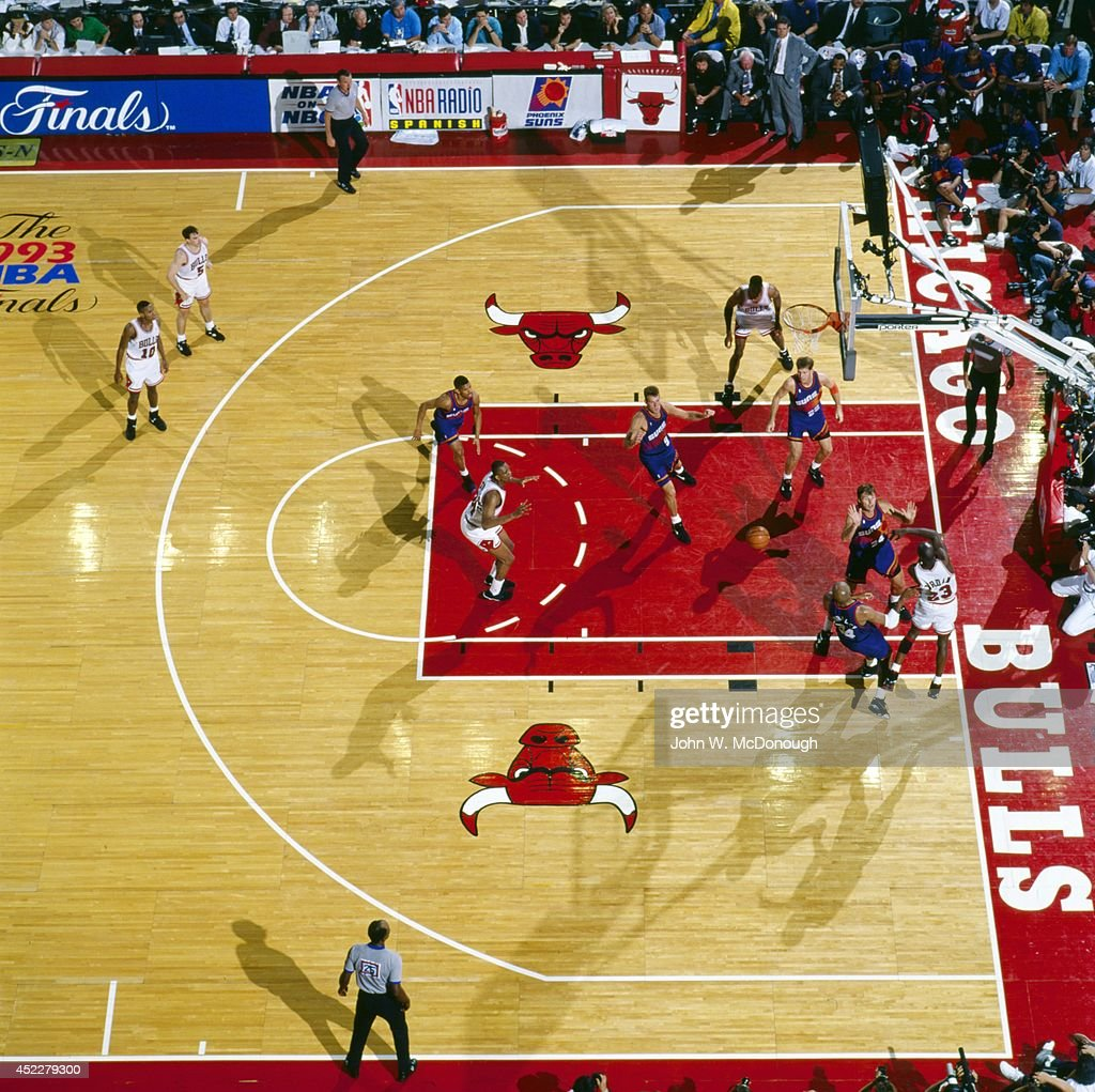 Chicago Bulls vs Phoenix Suns 1993 NBA Finals