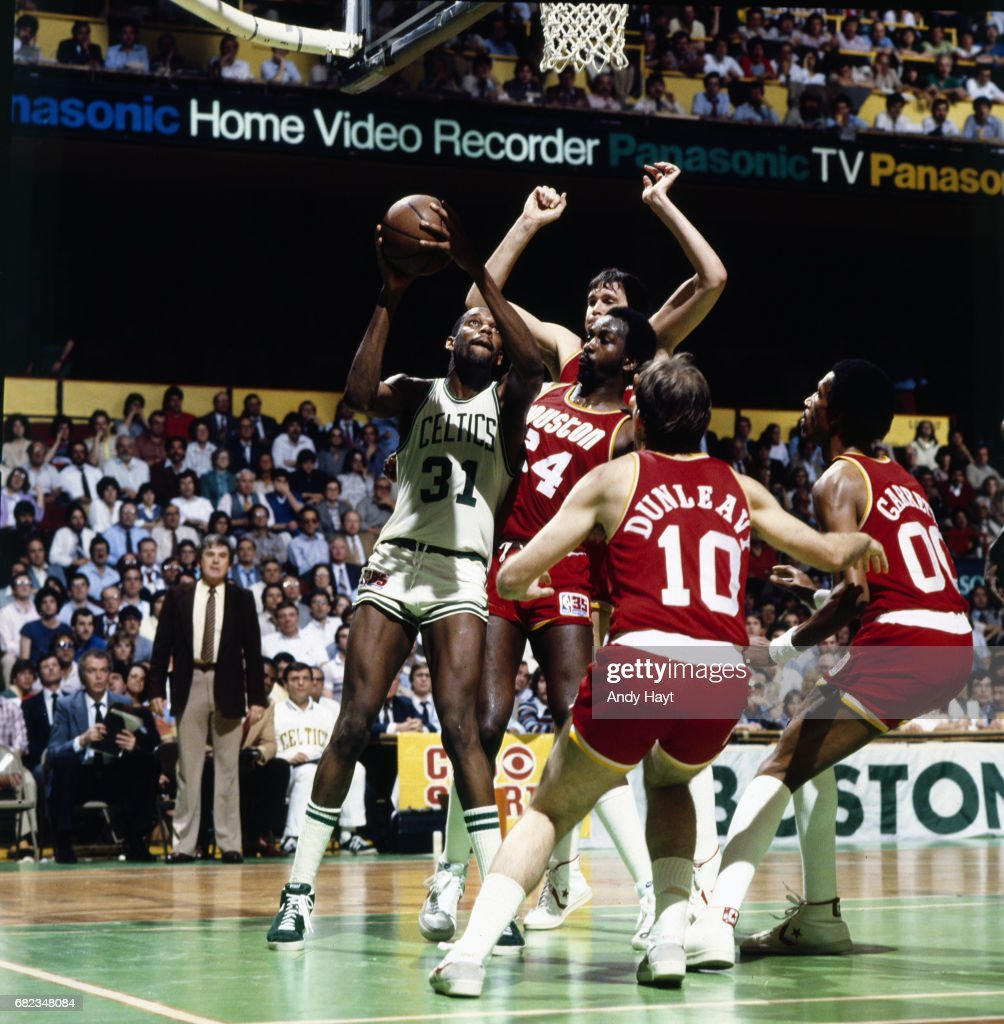 Boston Celtics vs Houston Rockets 1981 NBA Finals