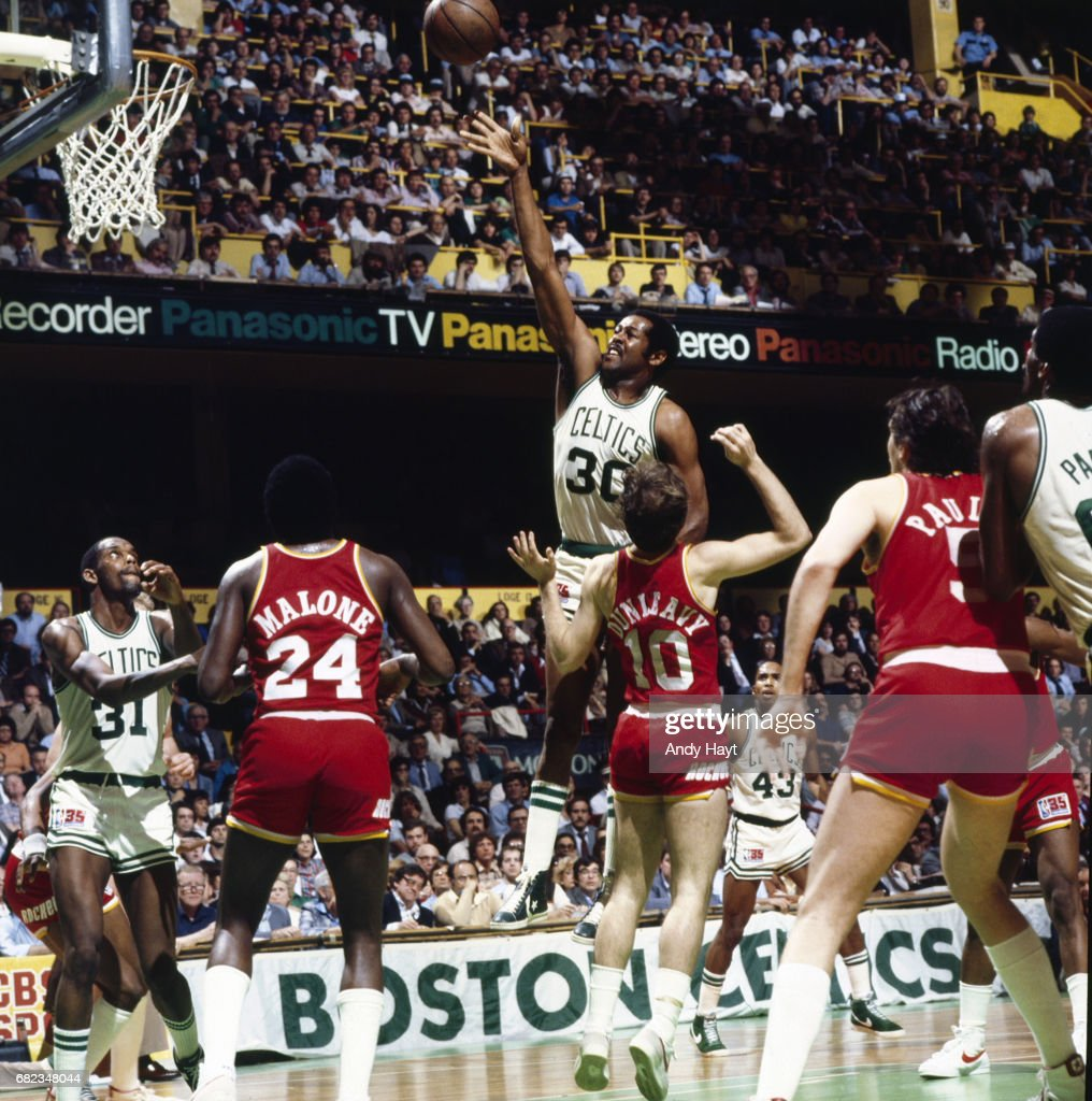 Boston Celtics vs Houston Rockets 1981 NBA Finals