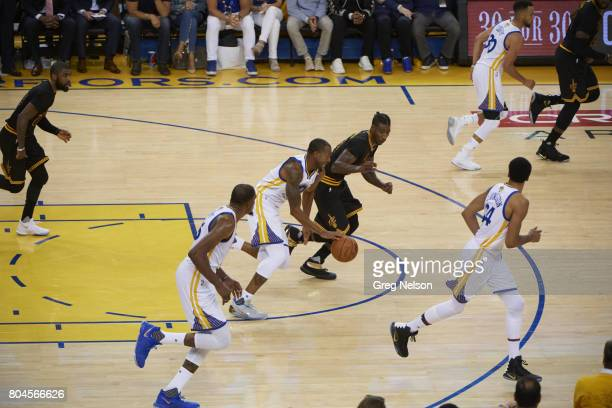 NBA Finals Golden State Warriors Andre Iguodala vs Cleveland Cavaliers at Oracle Arena Game 2 Oakland CA CREDIT Greg Nelson