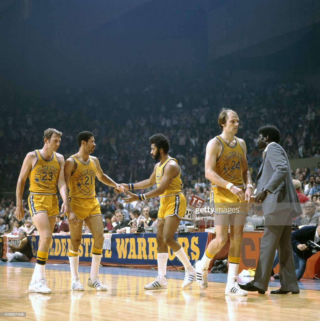 Golden State Warriors vs Washington Bullets 1975 NBA Finals