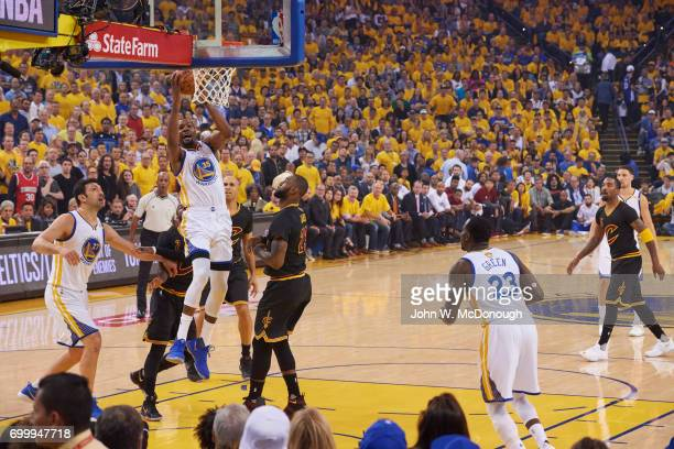 NBA Finals Golden State Warriors Kevin Durant in action vs Cleveland Cavaliers at Oracle Arena Game 5 Oakland CA CREDIT John W McDonough