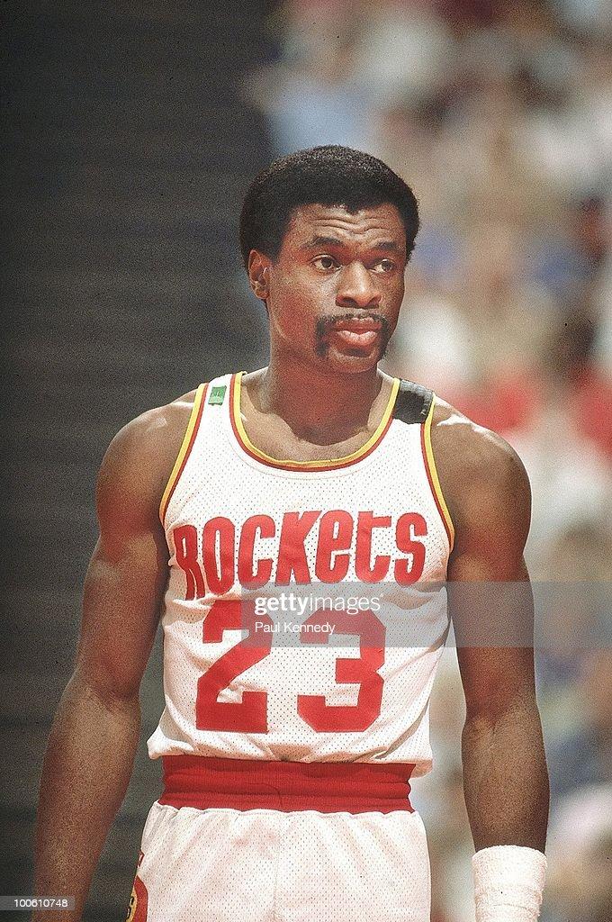 Houston Rockets Calvin Murphy (23) during game vs Boston Celtics. Game 3. Houston, TX 5/9/1981