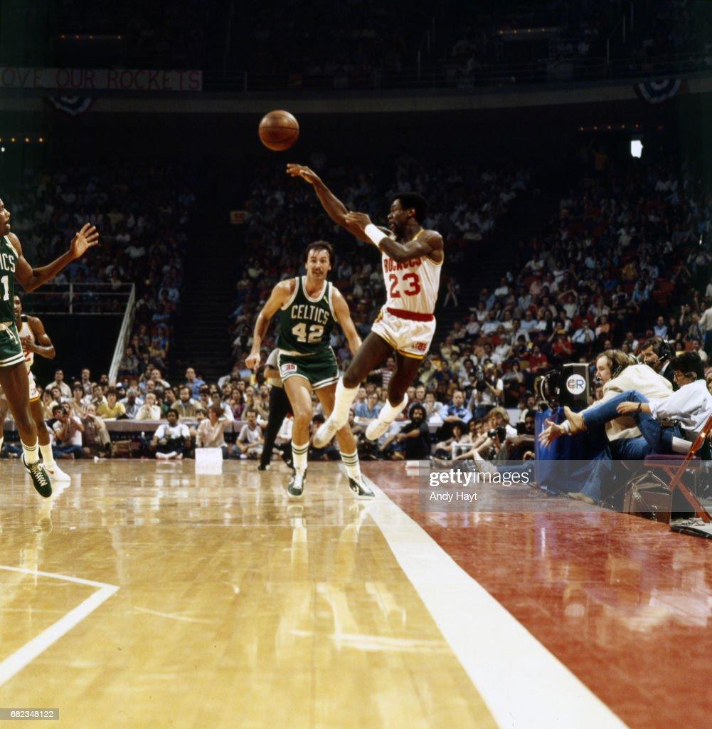 Houston Rockets vs Boston Celtics 1981 NBA Finals