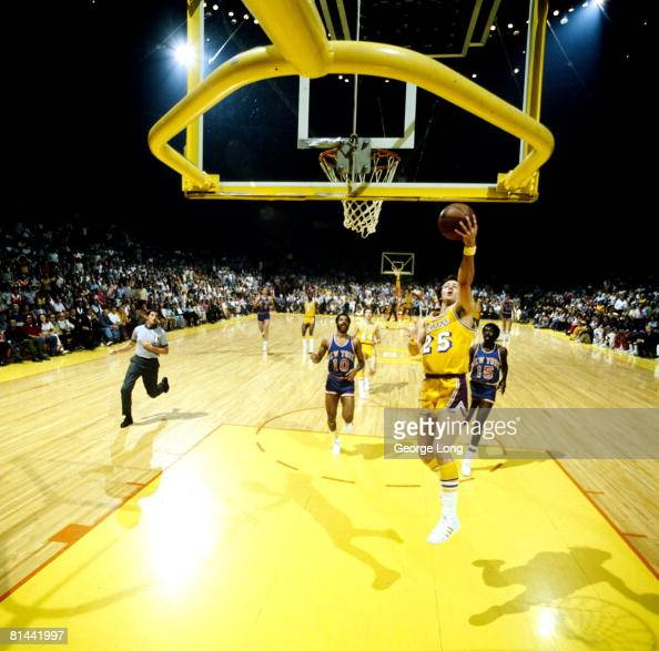 Los Angeles Lakers Gail Goodrich, 1972 NBA Finals Pictures ...