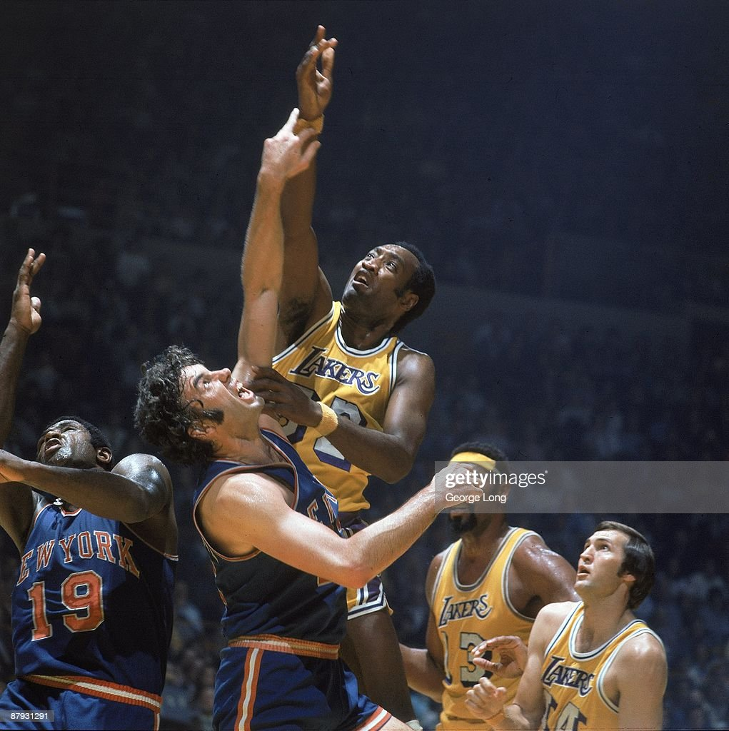 Los Angeles Lakers Happy Hairston 1973 NBA Finals