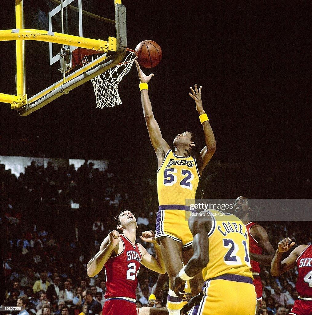 Los Angeles Lakers Jamaal Wilkes 1982 NBA Finals
