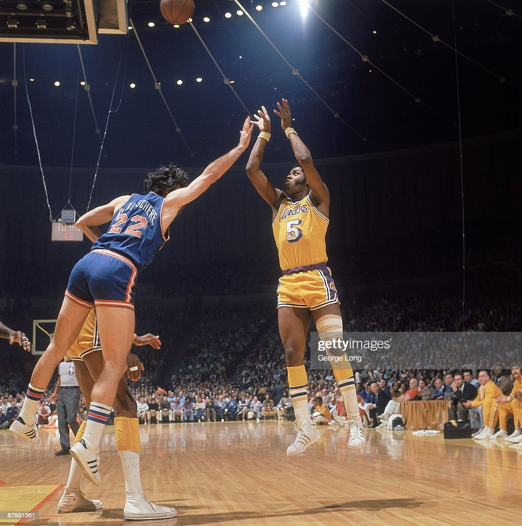Los Angeles Lakers Jim McMillian 1973 NBA Finals