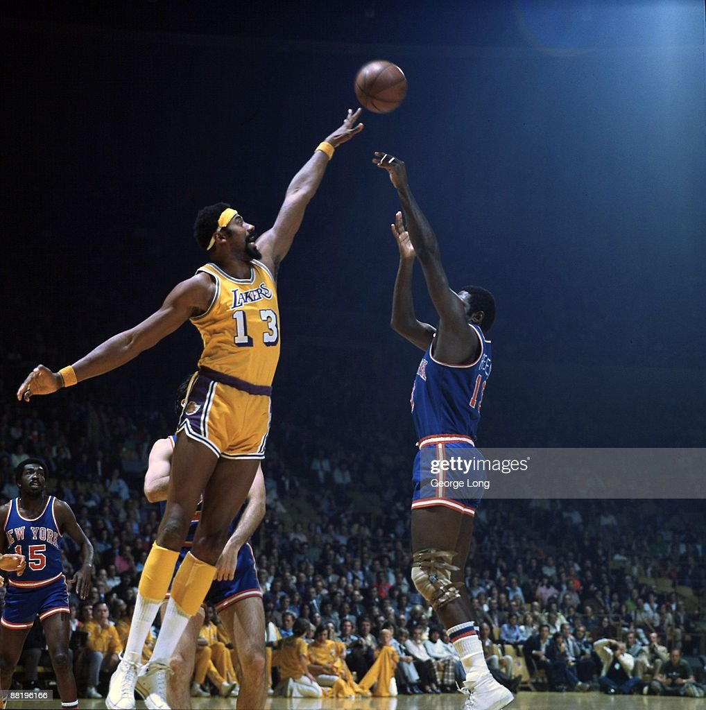 Los Angeles Lakers Wilt Chamberlain 1973 NBA Finals