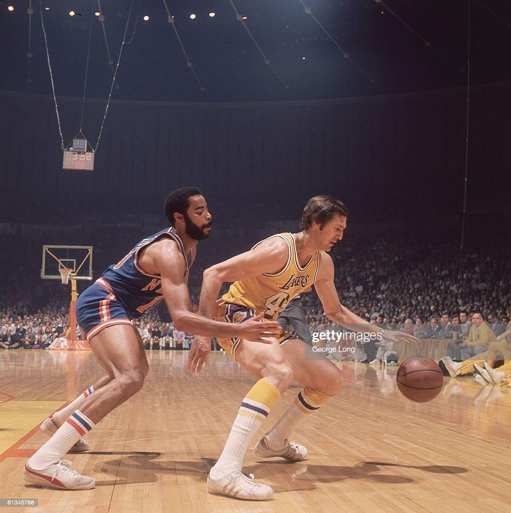 New York Knicks Clyde Frazier 1973 NBA Finals