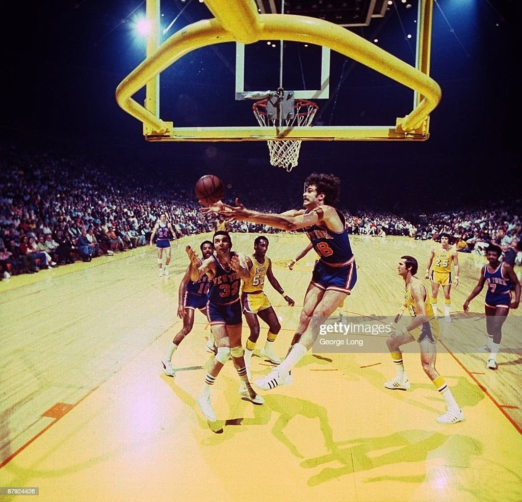 ca89e302d696 ... New York Knicks Phil Jackson (18) in action